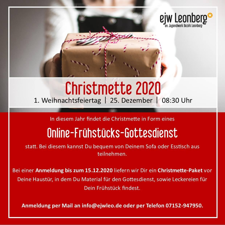ejw – Christmette 2020